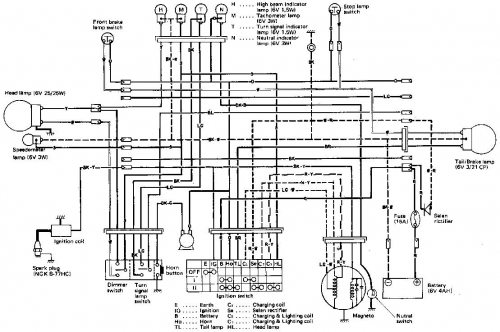 1978 Honda Xl100 Wiring Diagram. Honda. Auto Wiring Diagram
