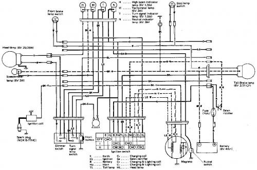 1973 suzuki ts185 wiring diagram suzuki lt80 wiring