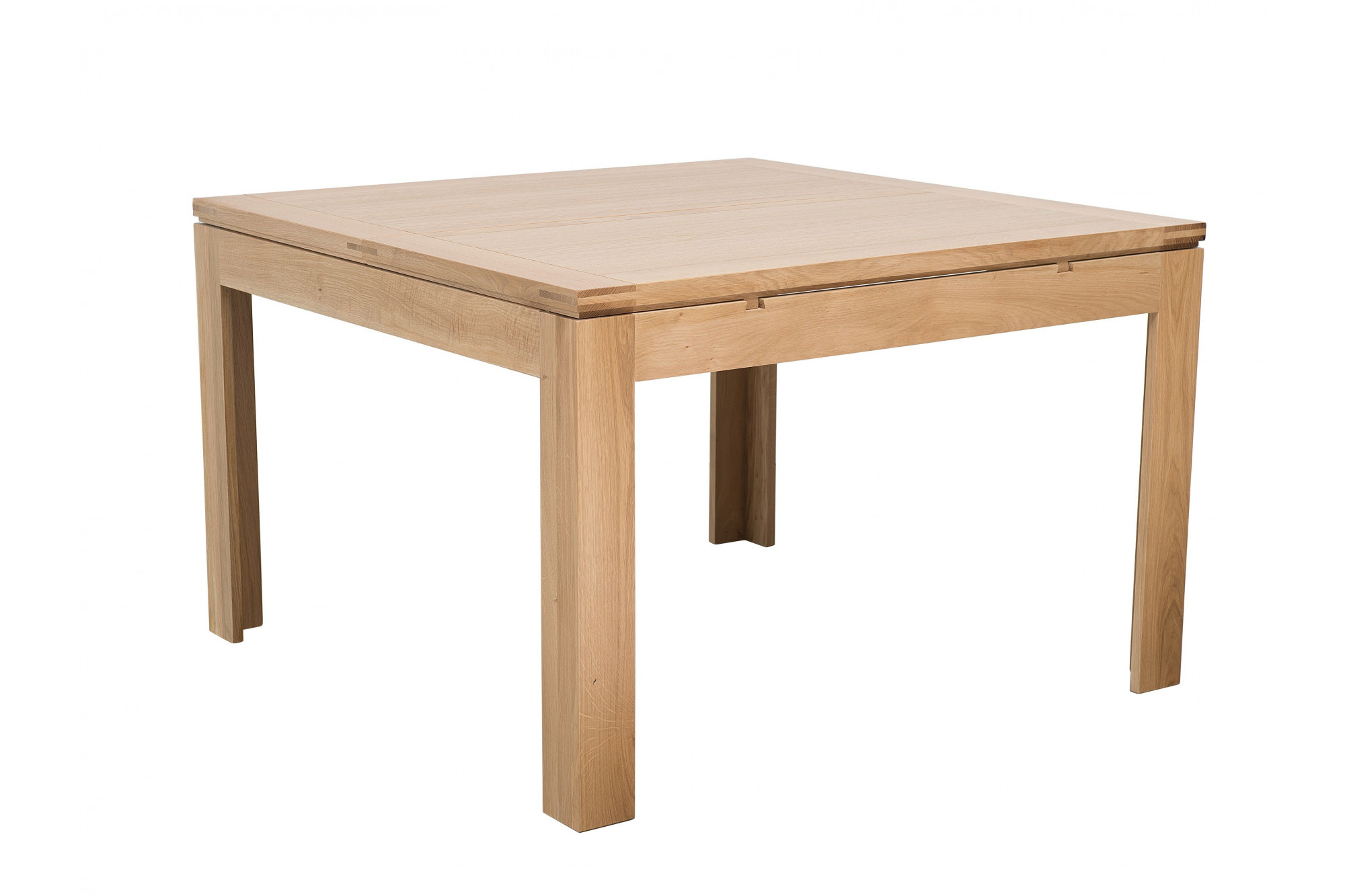 table extensible carree en chene clair collection boston