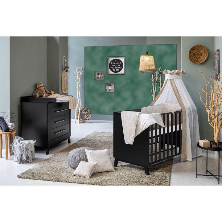 Kinderzimmer-Set MIAMI BLACK (2-tlg.) von SCHARDT