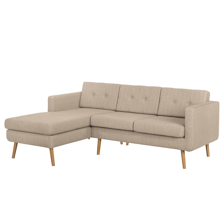 Ecksofa Croom Grau Sofa Croom I 3 Sitzer Webstoff Grau Morteens Mobel
