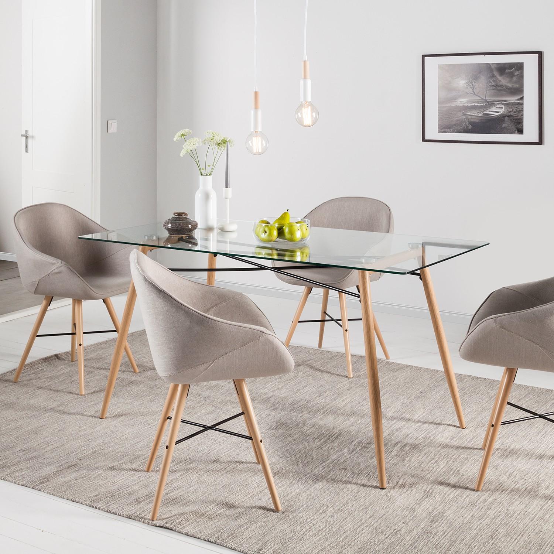 esstisch glasplatte runder glastisch ausziehbar top esstisch glas ausziehbar. Black Bedroom Furniture Sets. Home Design Ideas