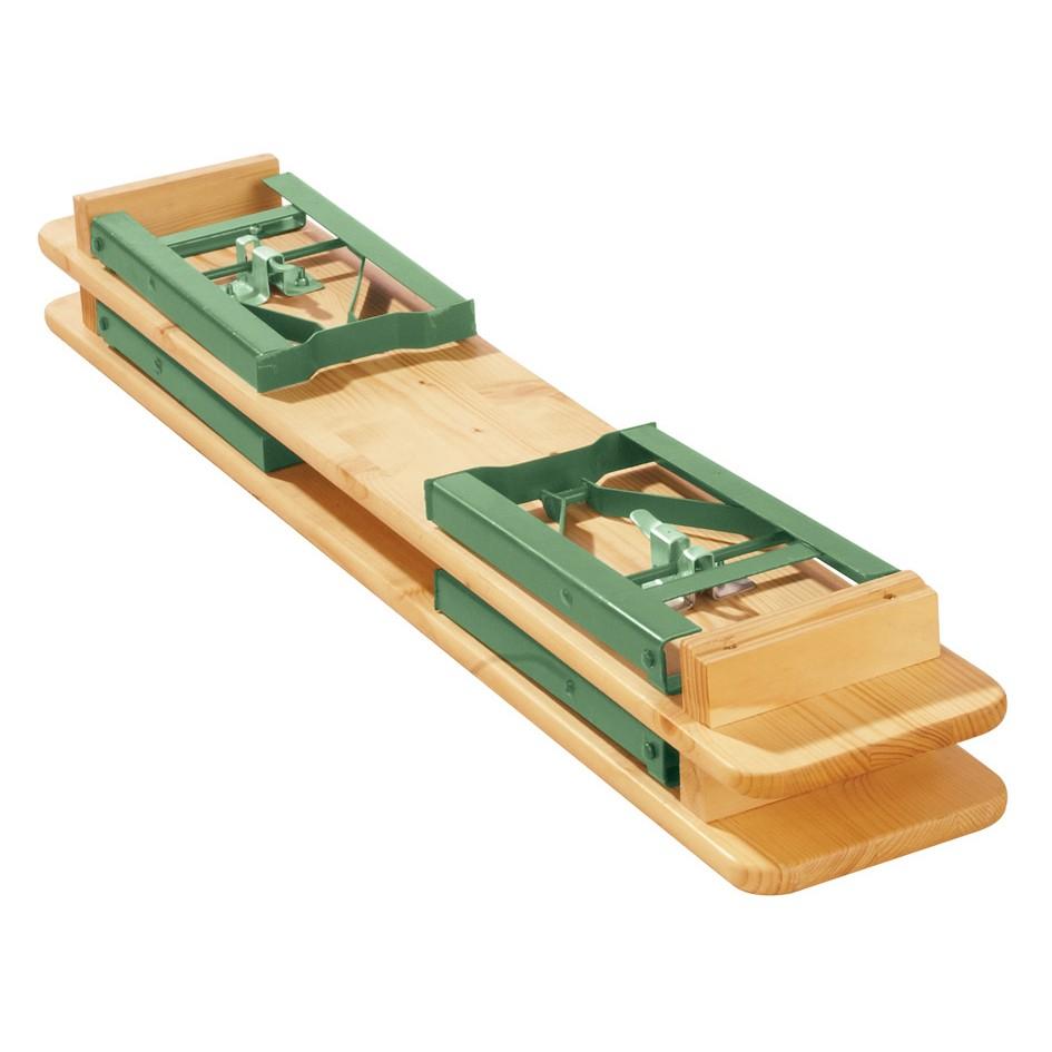 Kinderfestzeltgarnitur SEPP - Fichte Massivholz