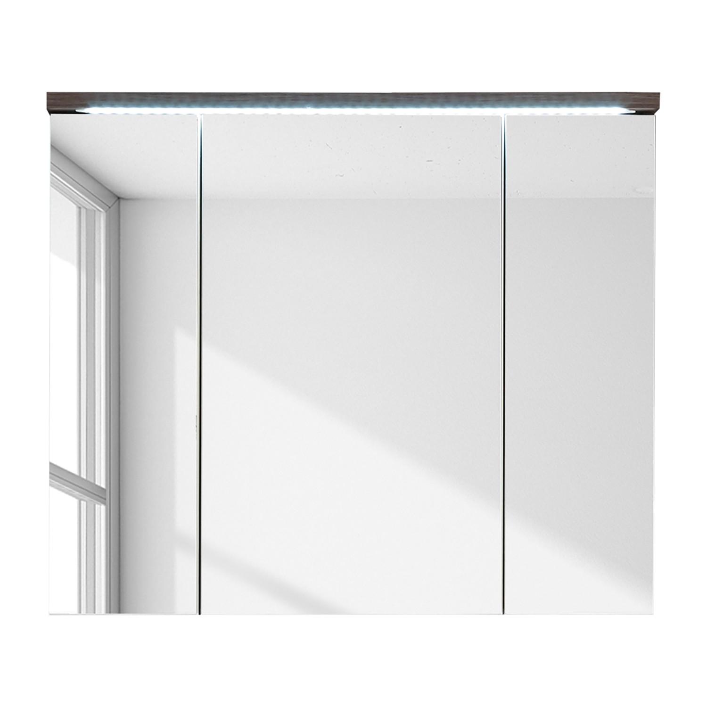 Spiegelschrank WYNTOON - Ulme Dunkel Dekor