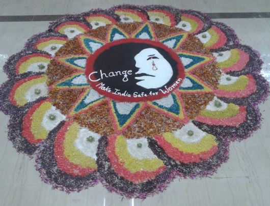 Competition Rangoli Design with Themes