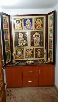 Pooja Room Designs in Hall