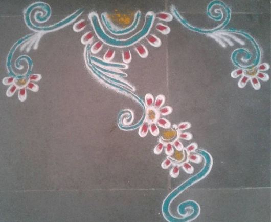 Border Rangoli Designs