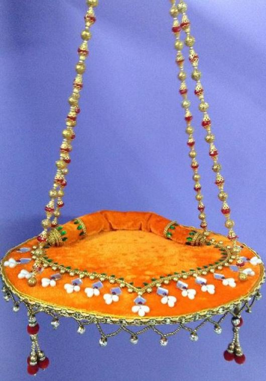 Krishna Jhula Design - Janmashtami Decoration Ideas