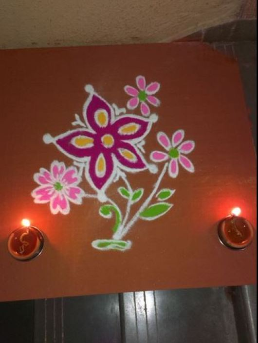 Easy and Simple Rangoli Designs for Kids