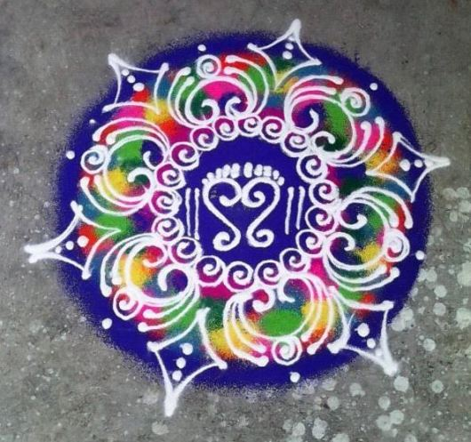 Rangoli Patterns for Holi