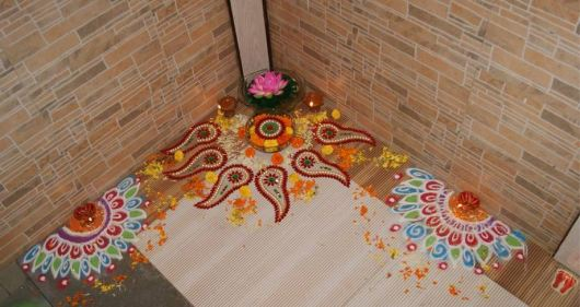 Diwali Border Rangoli Designs
