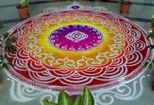 Top Rangoli Designs without Dots