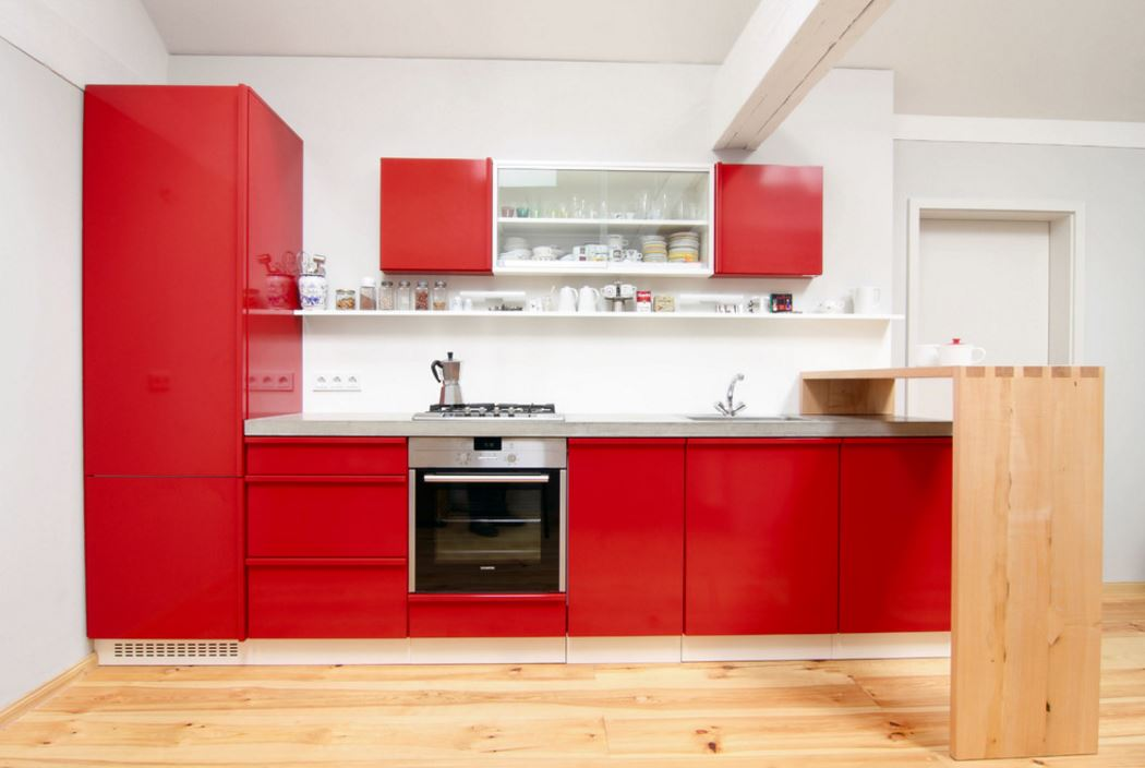 L Type Modular Kitchen Design