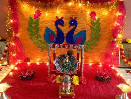 Janmashtami Decoration Ideas
