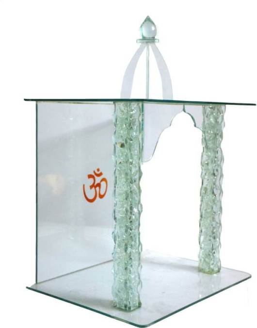 Glass Pooja Mandir Designs