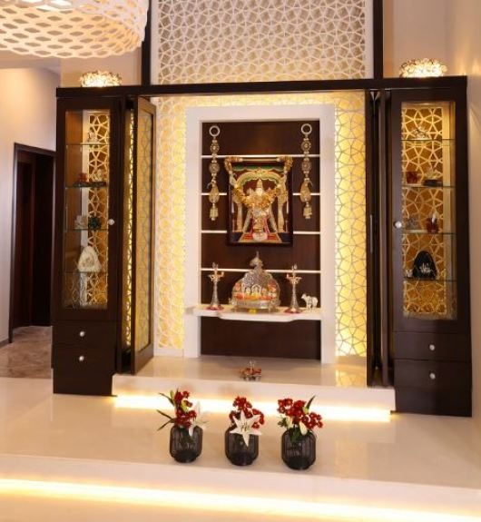 Home Design Ideas Hindi: Indian Pooja Room Designs - Pooja Room
