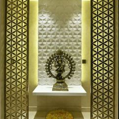 Living Room Ceiling Design India Wine Bar Of Pooja Within A House - | ...