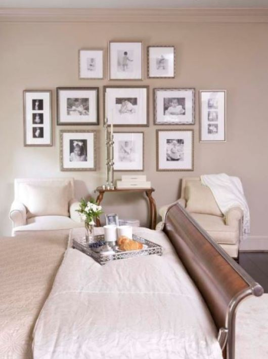 Bedroom Picture Wall Gallery Ideas