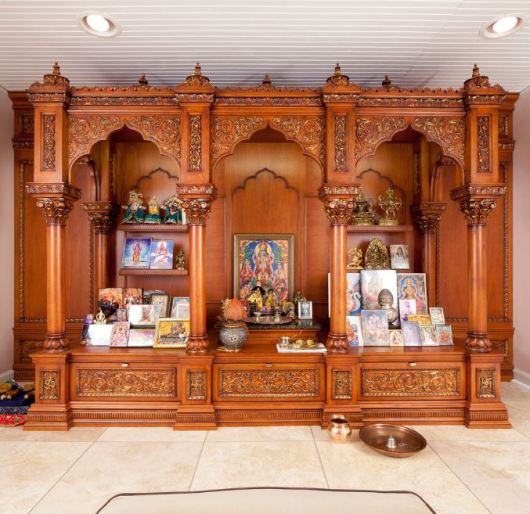 Wooden Pooja Mandir Designs