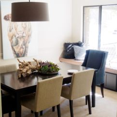 Grey Kitchen Table And Chairs Leather Belt Chair Dining Room Designs For Small Spaces - | ...