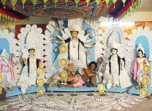 Durga Pooja Decoration Ideas