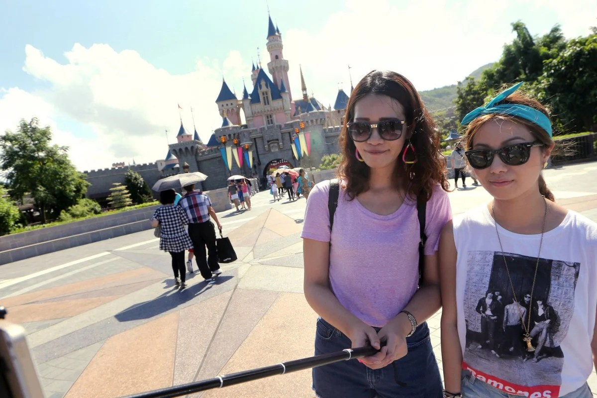 hong kong disneyland bans