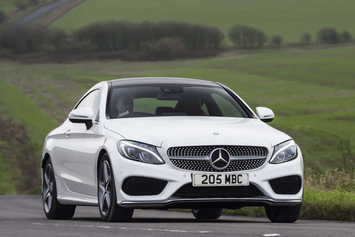 small resolution of mercedes benz c300 coupe photo newspress