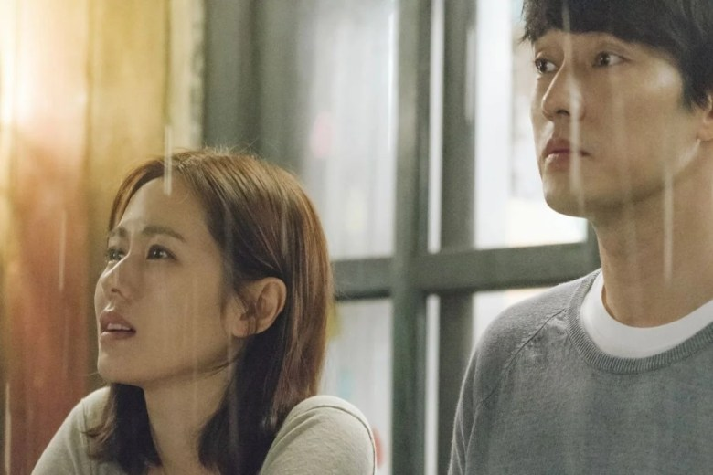 Son Ye-jin (left) and So Ji-sub in a still from Be with You (category IIA, Korean), directed by Lee Jang-hoon.