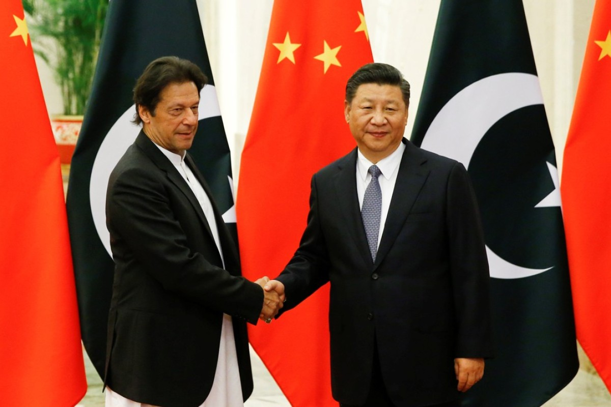 Image result for imran khan with chinese prime minister