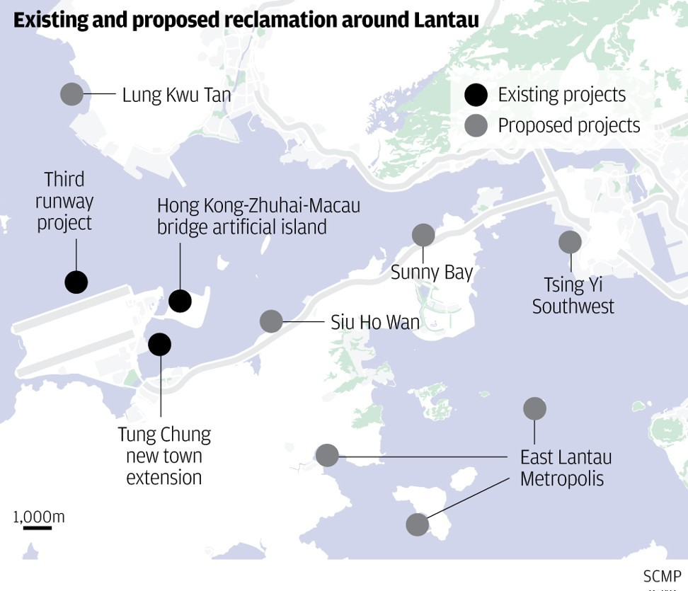 island of hope for crowded cramped hong kong a huge new island will be a game changer south china morning post [ 972 x 835 Pixel ]