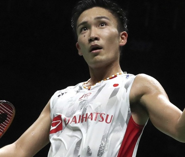 Badminton World Championships Kento Momota Becomes First Japanese