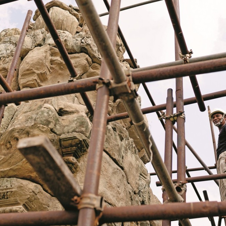 Angkor Temple Restorers Face Financial Ruin After French