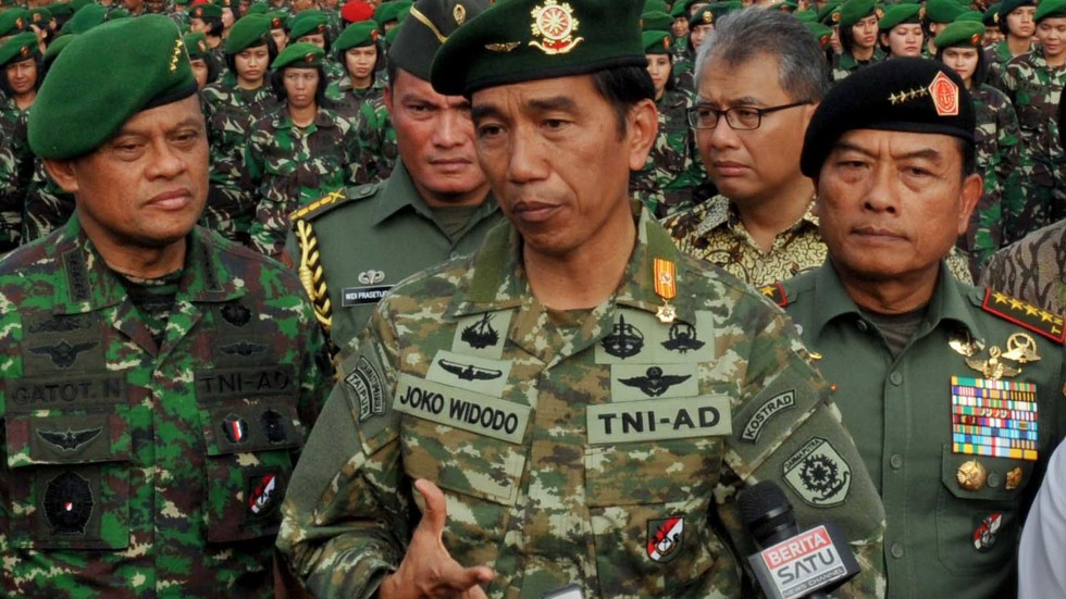 Indonesia President Widodo Upsets Military Tradition In