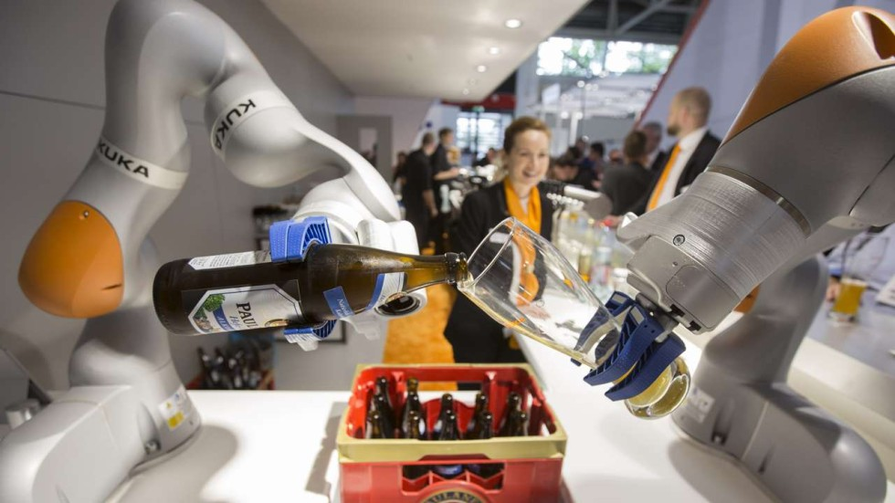 Mideas move for German robot maker Kuka may be a turning point for Chinese manufacturing