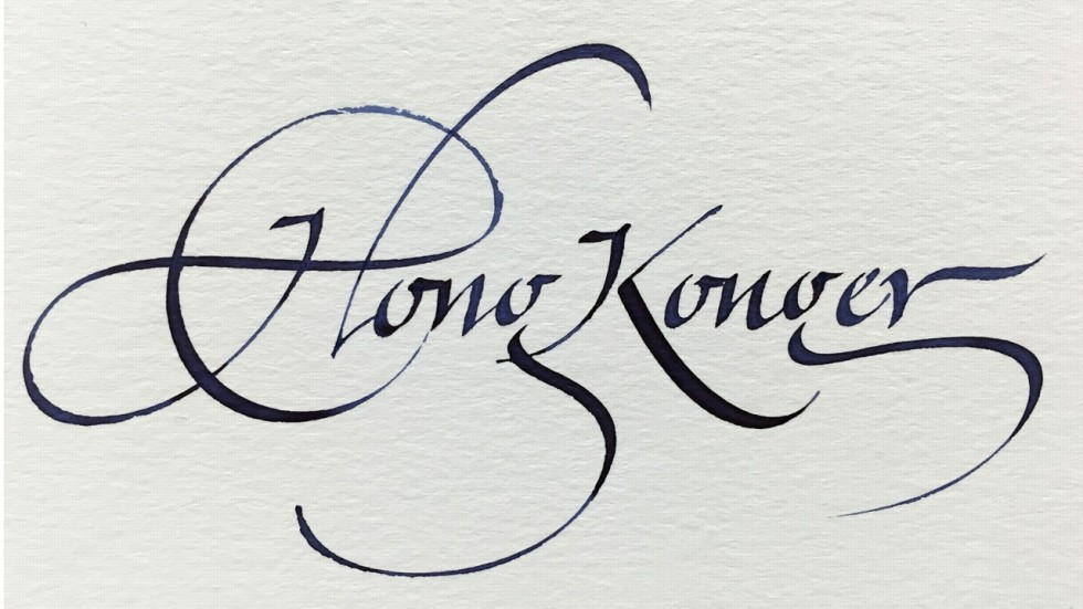 Heady Days For Hand Lettering In Hong Kong And Why It Can