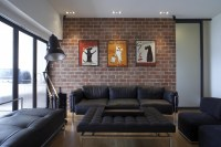 To decorate a loft New York style, focus on personality