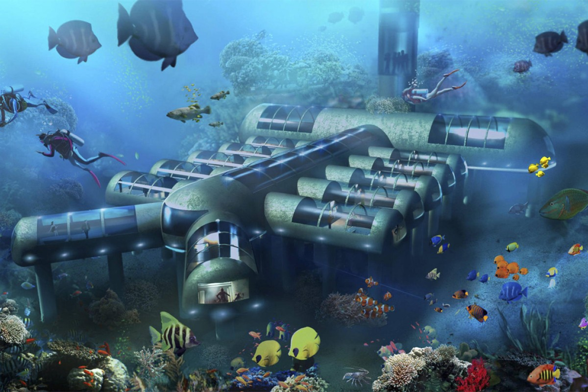 Underwater Hotel Step Closer Reality Hold