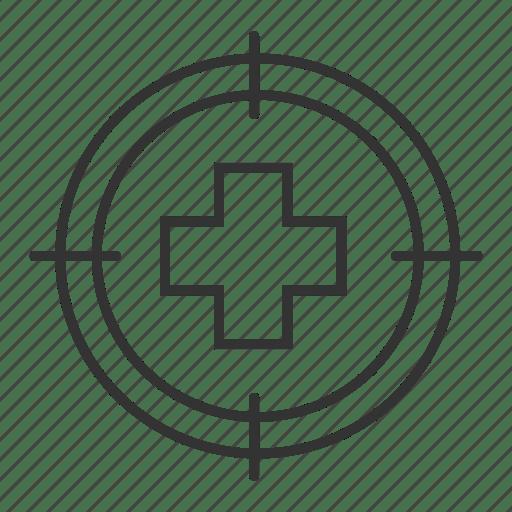 Aim, cross, emergency, hospital, medical, pharmacy, search