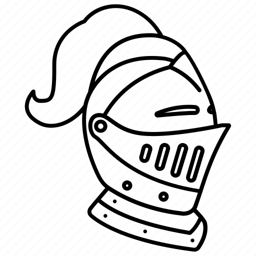 Armor, armour, helm, helmet, knight, medieval, royal icon
