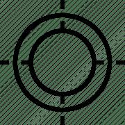 crosshair shoot symbol target