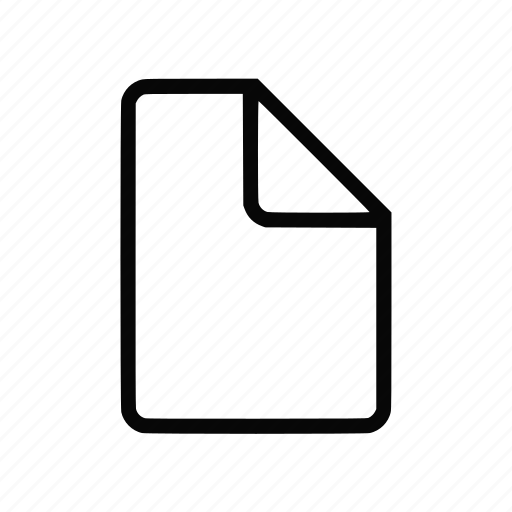 Data, document, file, format, page, paper, sheet icon