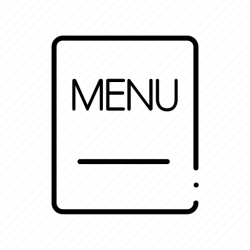Background card cover food menu restaurant template icon Download on Iconfinder