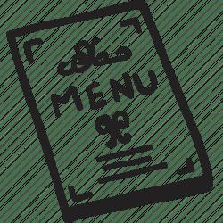 Bistro menu restaurant dining icon Download on Iconfinder
