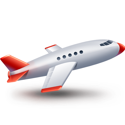 Air airplane business fly plane transport icon icon