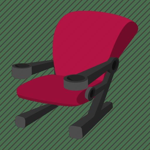 Auditorium, cartoon, chair, cinema, recreation, seat