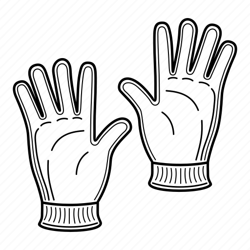 Clothing, fashion gloves, for men, for women, gloves