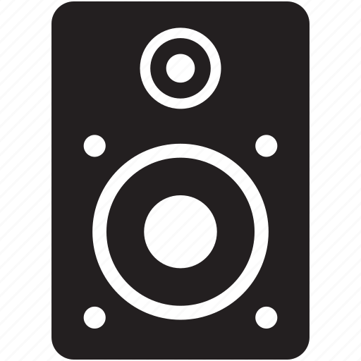 Audio music pc speakers speaker speakers stereo icon