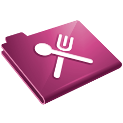 icon food restaurant icons grey folder recipe transparent form cookbook system ico manage users same freeiconspng amazon softicons app sign