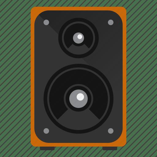 Audio device music speaker icon