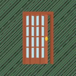 door cartoon doorway entrance icon rectangle sc st clipart
